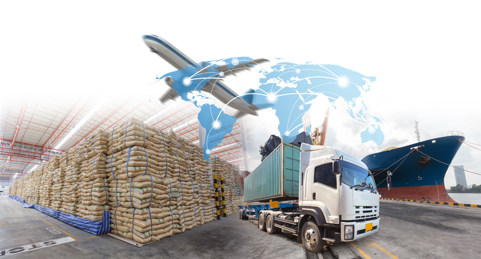industrial cargo for import export